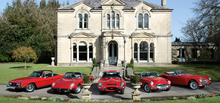 Classic Car Hire Tours